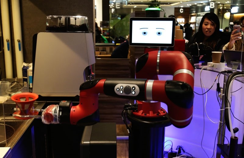 giappone robot bar